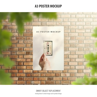 Maqueta de póster a3