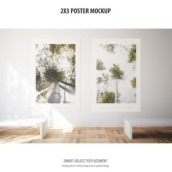 Maqueta de póster