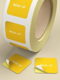 Maqueta de producto de cinta adhesiva