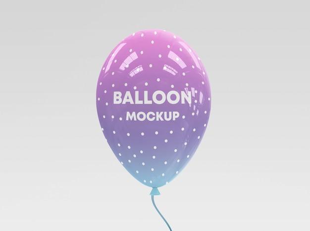 Maqueta realista de globos