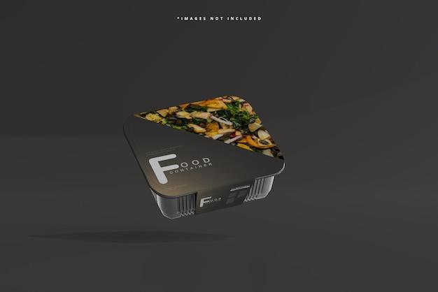 Maqueta de recipiente de comida de tamaño mediano