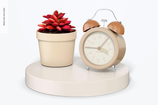 Maqueta de reloj despertador
