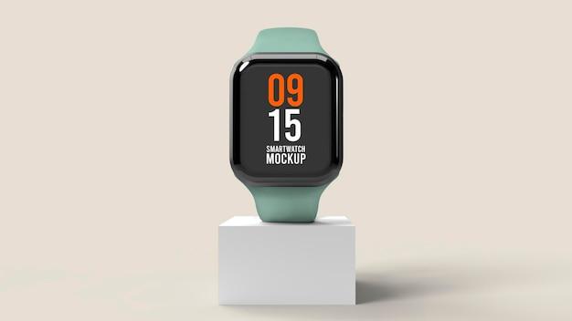 Maqueta de reloj inteligente
