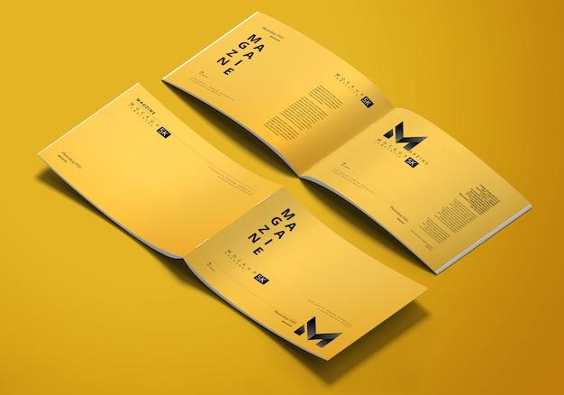 Maqueta de revista horizontal