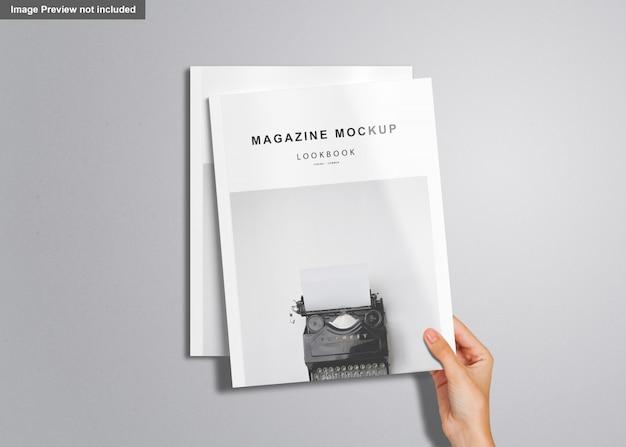 Maqueta de la revista us letter