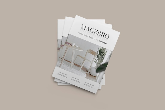 Maqueta de revista