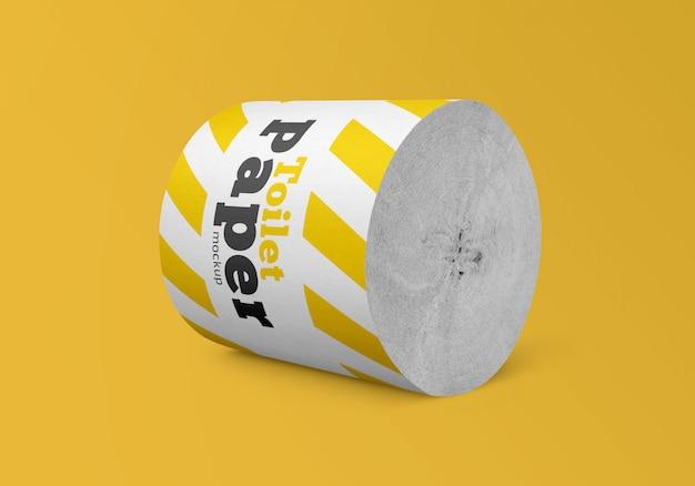 Maqueta de rollo de papel higiénico