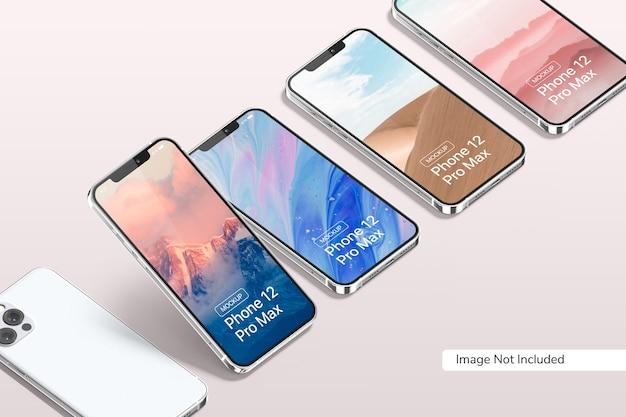 Maqueta de smartphone 12 pro max