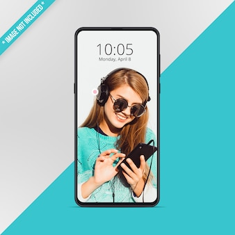 Maqueta de smartphone android