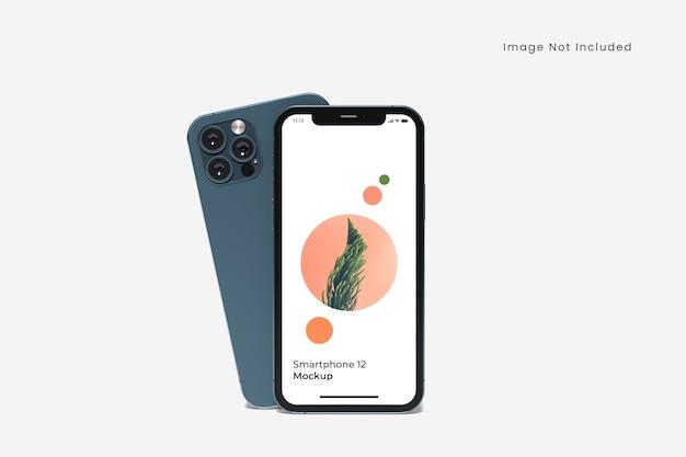 Maqueta de smartphone realista aislado