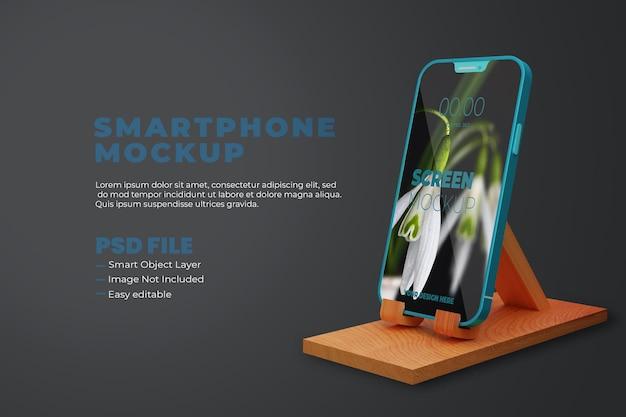 Maqueta de smartphone realista