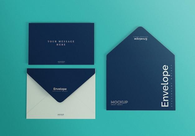 Maqueta de sobres