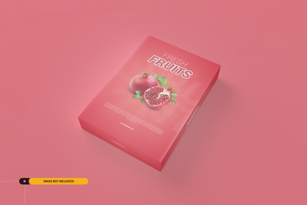 Maqueta de software / caja de producto