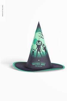 Maqueta de sombrero de bruja
