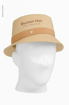 Maqueta de sombrero de cubo