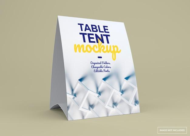 Maqueta de soporte de carpa de mesa