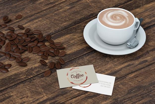 Maqueta stationery para cafetería