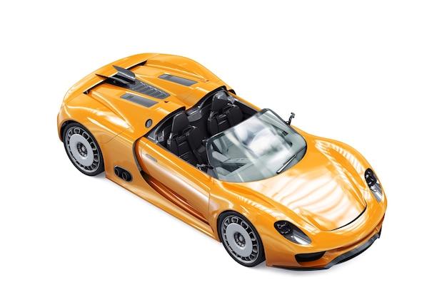 Maqueta de super coche 2011