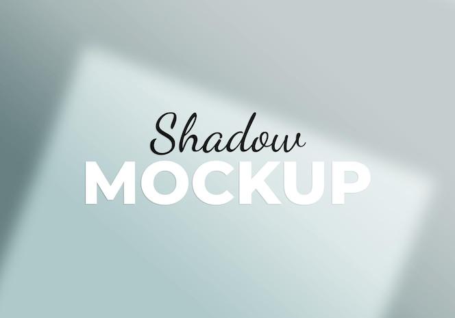 Maqueta de superposición de sombras