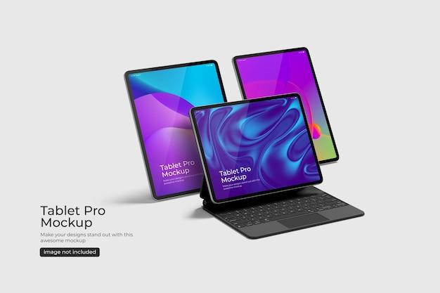 Maqueta de tablet pro