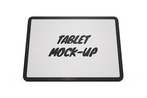 Maqueta de la tableta aislada