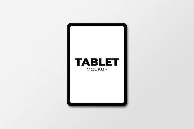 Maqueta de tableta aislada