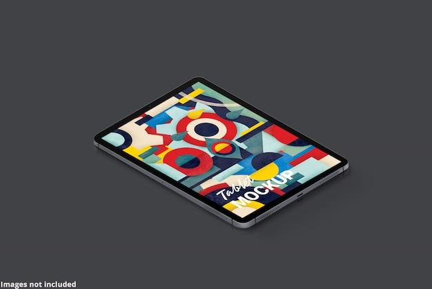 La maqueta de la tableta