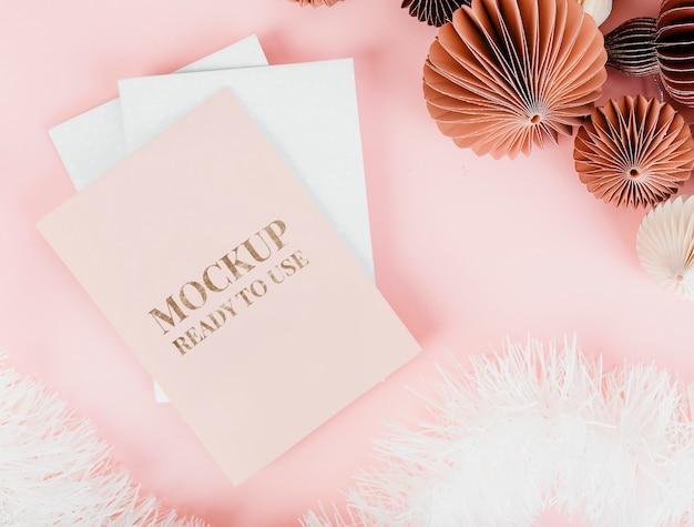 Maqueta de tarjeta de navidad