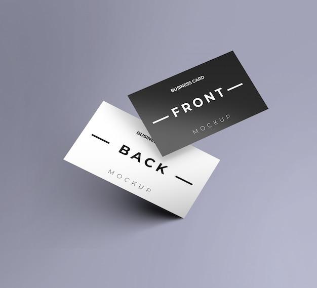 Maqueta de tarjeta de presentación dinámica