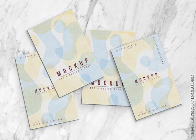 Maqueta de tarjeta de visita abstracta