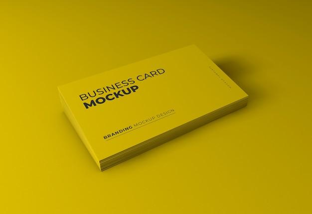 Maqueta de tarjeta de visita elegante
