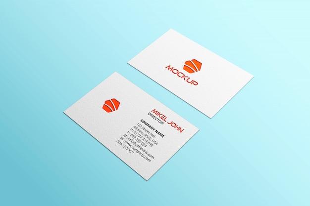 Maqueta de tarjeta de visita de estilos