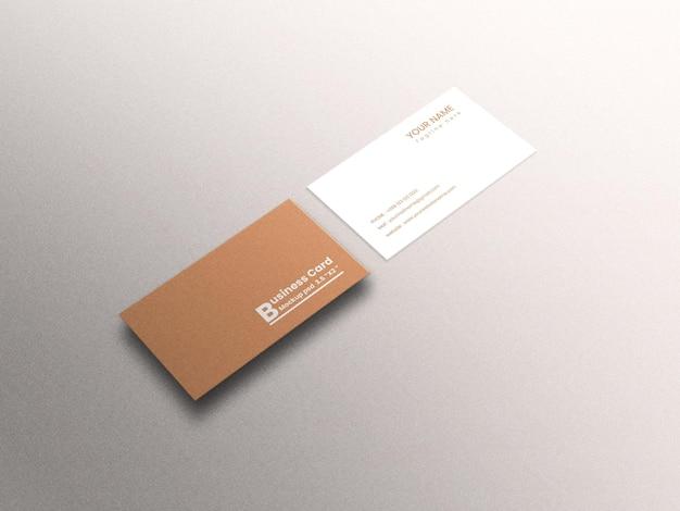 Maqueta de tarjeta de visita de lujo moderna