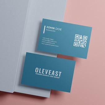 Maqueta de tarjeta de visita simple