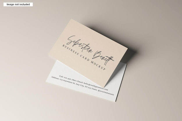 Maqueta de tarjeta de visita
