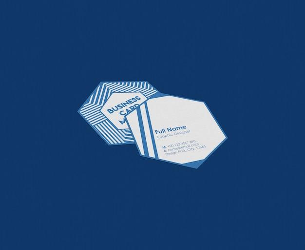 Maqueta de tarjeta de visita.
