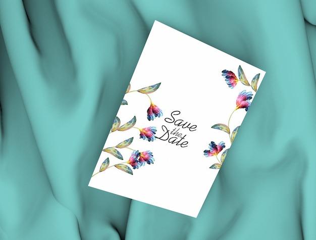 Maqueta de tarjeta