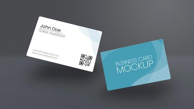 Maqueta de tarjetas de visita