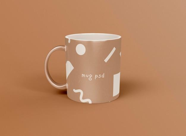 Maqueta de taza de café 3d
