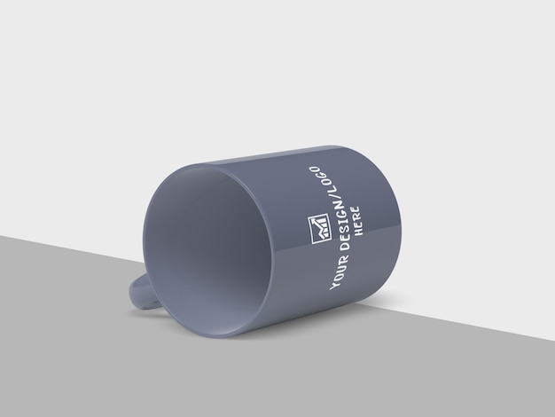 Maqueta de taza de café para merchandising
