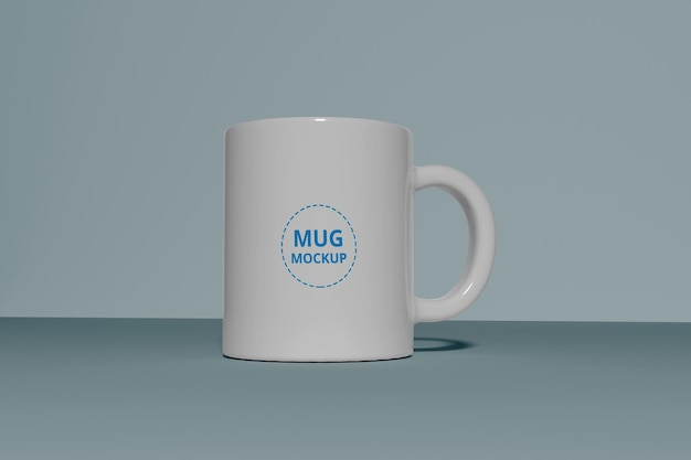 Maqueta de taza de café realista psd premium