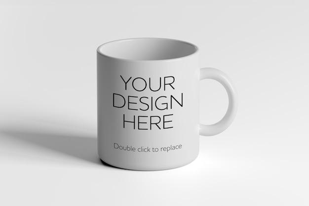 Maqueta de taza de cerámica - representación 3d