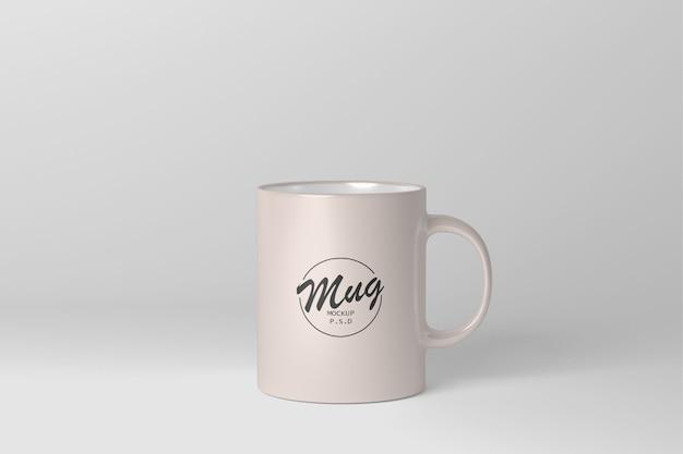 Maqueta de taza realista