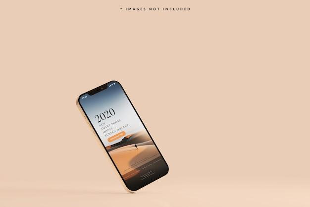 Maqueta de teléfono inteligente moderno