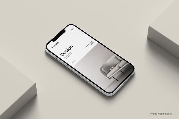 Maqueta de teléfono inteligente pro max