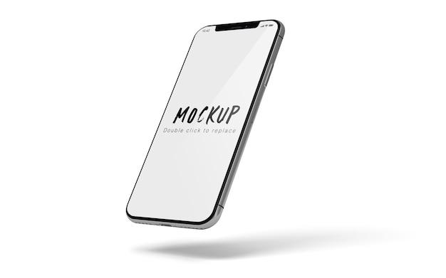 Maqueta de teléfono inteligente psd aislado