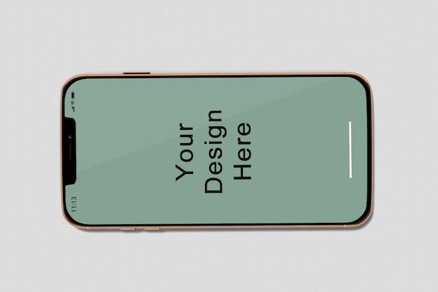 Maqueta de teléfono inteligente