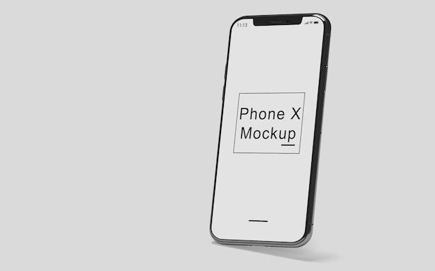 Maqueta del teléfono x