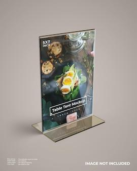Maqueta de tienda de mesa de acrílico realista