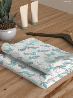 Maqueta de toalla